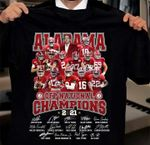 Alabama crimson tide cfp national champions signatures for fans