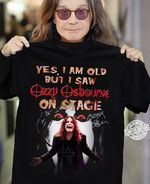 Yes i am old but ozzy osbourne on stage signed for fans