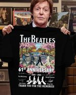 The beatles 61st anniversary thank you for the memories for fans