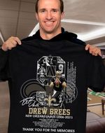New orleans saints drew brees signed for fans