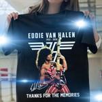 In memories eddie van halen signed for valn halen fans
