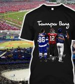Tampa bay sport team lightning buccaneers rays signed for fans