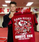 Damn right i am a kansas city chiefs fans now and forever for fans