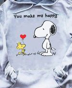 Snoopy you make me happy