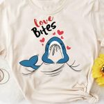 Shark love bites tshirt