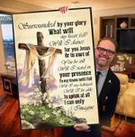 I can only imagine lyric poster canvas for mercyme fans