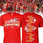 Kansas city chiefs champions 2020 player name for fans