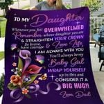 To my daughter be brave have courage & love life love dad