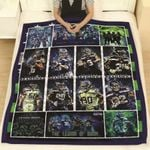 Seattle Seahawks Conference Members Great Players NFL American Football Team Logo Gift For Seahawks Fans Quilt