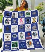 Dallas Cowboys Fueled by Haters Damn Right I am a Cowboys Fan Now and Forever gift for Dallas Cowboys fans Quilt