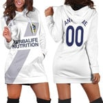 La Galaxy Football Club Home Colors 3D Allover Custom Name Number Gift For LA Galaxy Fans Hoodie Dress