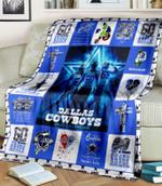 Dallas Cowboys 2021 Calendar Cowboys Queen Classy Sassy and A Bit Smart Assy gift for Dallas Cowboys fans Fleece Blanket