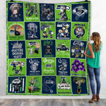 Green Bay Packers 100th Years Of Packers Thank You For The Memories NFL American Football Team Logo Gift For Packers Fans Fleece Blanket