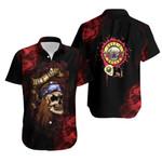 Gun N Roses Axl Rose Rock Band Black 3D Designed Allover Gift For Gun N Roses Fans Hawaiian Shirt