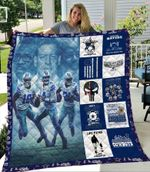 Dallas Cowboys Legends American Professional Football Team Dallas Cowboy is in my DNA gift for Dallas Cowboys fans Quilt