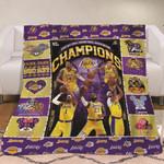 Los Angeles Lakers 2020 National Basketball Association Champions Beetle Los Angeles Lakers gift for Lakers fans Fleece Blanket