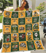 Seattle Seahawks Like Father Like Daughter Life Is Better With Seahawks NFL American Football Team Logo Gift For Seahawks Fans Quilt
