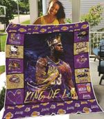 Los Angeles Lakers King Of Los Angeles Kobe Bryant Los Angeles Lakers is in my DNA gift for Lakers fans Kobe Bryant fans Quilt