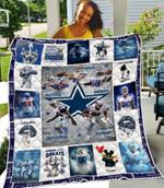 Dallas Cowboys Alltime Greats Tony Romo Dez Bryant Jason Witten Best Team Ever gift for Dallas Cowboys fans Quilt