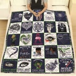 Seattle Seahawks Seahawks Girl Classy Sassy And A Bit Smart Assy NFL American Football Team Logo Gift For Seahawks Fans Quilt