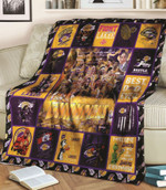 Los Angeles Laker Champions 2020 Los Angeles Laker Best Dad Ever Best Basketball Team Ever gift for Lakers fans Fleece Blanket
