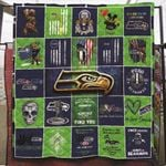 Green Bay Packers Super Bowl Champions Haters Gonna Hate NFL American Football Team Logo Gift For Packers Fans Quilt