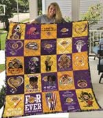 Los Angeles Laker For Ever Not Just When We Win Lakers Ill Be There For You gift for Lakers fans Quilt