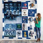 Dallas Cowboys is in my DNA Dallas Cowboys American Professional football team ever gift for Dallas Cowboys fans Fleece Blanket