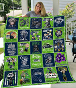 Green Bay Packers 100th Years Of Packers Thank You For The Memories NFL American Football Team Logo Gift For Packers Fans Quilt