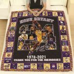 Los Angeles Laker Kobe Bryant 1978 2021 Thank You For The Memories Best Team Ever gift for Lakers fans Kobe Bryant fans Quilt