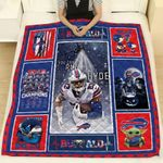 Seattle Seahawks Damn Right I Am A Seahawks Fan Now And Forever NFL American Football Team Logo Gift For Seahawks Fans Quilt