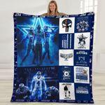 Dallas Cowboys Dak Prescott Dallas Cowboy One Nation under God Best Team Ever gift for Dallas Cowboys fans Fleece Blanket