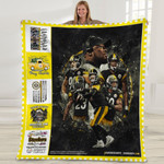 Pittsburgh Steelers One Nation under God Damn Right I am a Steelers Fan Now and Forever gift for Steelers fans Fleece Blanket