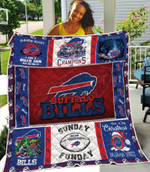 Buffalo Bills Yoda Punisher Christmas NFL American Football Team Logo Gift For Bills Fans Quilt