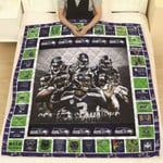 Green Bay Packers I May Live In Mechigan But On Game Day Belongs To Packers NFL Logo Gift For Packers Fans Quilt