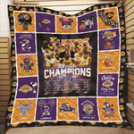 Los Angeles Laker NBA Champions 2020 NBA Finals Los Angeles Laker is in my DNA gift for Lakers fans Quilt