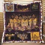Los Angeles Laker Most Cominant Ever Los Angeles Laker One Nation under God Best Team Ever gift for Lakers fans Quilt