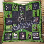Seattle Seahawks Baldwin Wilson Rice NFC West Champions Legends NFL American Football Team Logo Gift For Seahawks Fans Quilt