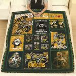 Green Bay Packers 100th Years Of Packers Legends Signatures NFL American Football Team Logo Gift For Packers Fans Quilt