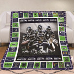 Green Bay Packers I May Live In Mechigan But On Game Day Belongs To Packers NFL Logo Gift For Packers Fans Fleece Blanket