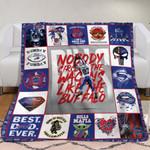 Buffalo Bills Andre Reed 83 Legend NFL American Football Team Logo Gift For Bills Fans Fleece Blanket