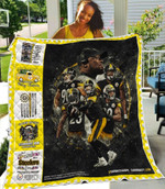 Pittsburgh Steelers One Nation under God Damn Right I am a Steelers Fan Now and Forever gift for Steelers fans Quilt