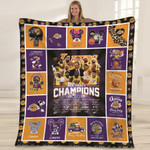 Los Angeles Laker NBA Champions 2020 NBA Finals Los Angeles Laker is in my DNA gift for Lakers fans Fleece Blanket