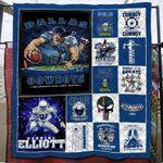 Dallas Cowboys Pride since 1960 Dallas Cowboys one nation under God gift for Dallas Cowboys fans Quilt