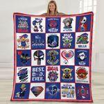 Buffalo Bills 2020 Champions Great Players NFL American Football Team Logo Gift For Bills Fans Fleece Blanket