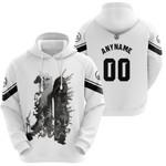 Linkin Park Legend Warriors Rock band Logo White 3D Designed Allover Custom Gift For Linkin Park Fans Hoodie