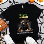 Jack Skellington Blimpie Nightmare Before Coffee Spooky Halloween Gift For Jack Skellington Fans Tshirt
