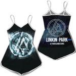 Linkin Park A Thousand Suns Rock band Logo Black 3D Designed Allover Gift For Linkin Park Fans Romper Jumpsuit