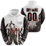 DMX Sounds Vibes Radio American rapper Black White 3D Designed Allover Custom Gift For DMX Fans Hoodie