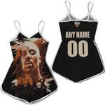 DMX American rapper Vapor Black 3D Designed Allover Custom Gift For DMX Fans Romper Jumpsuit